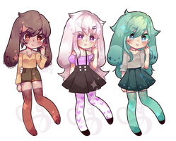 adopt set 2 :CLOSED: by SenpaiViolet