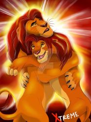 The Lion King - Mufasa and Simba forever by Diego32Tiger