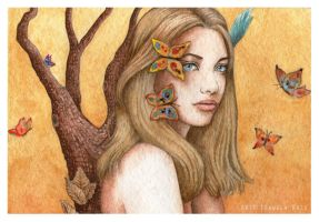 And the Butterflies Came to Visit by IsabelaRazo