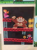 Donkey Kong level 1 by xXXxNightShadexXXx