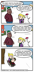 Santa by SpiritualBacon
