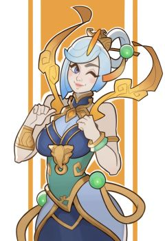 League of Legends, Lux by SplashBrush