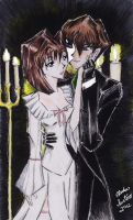 Seto and Anzu - Music of the Night by daffodil93