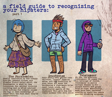 HIPSTER FIELD GUIDE pt. 1 by seph-hunter