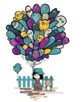 Balloon Boy by Shaima