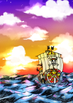 thousand sunny by Sohilicious