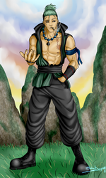 One Piece- The Son by R-Blackout