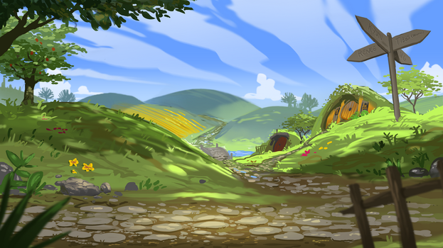 The Shire by MLeth