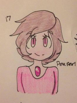 -Request- Pink Pearl  by FlameArcher13