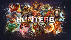 SMITE - Hunters Wallpaper (Hou Yi Edition) by Getsukeii