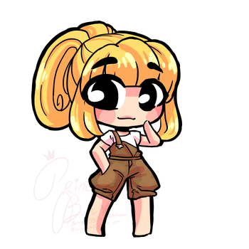 Itty Bit Chibi Commission for Grumpy-Hamster by bunnyb133