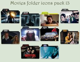 Movies folder icons pack 13 by Cadavericale