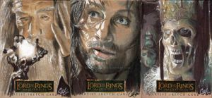 Lord Of The Rings Masterpieces by gattadonna