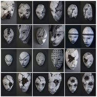 Mask collection by torvenius