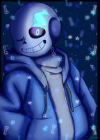 Sans - [OPEN COLLAB] by Tia-Tchou