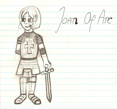 My Best Drawing Of Joan Of Arc EVER! by MouseAvenger