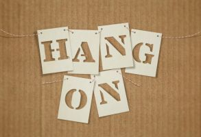 Hang On by Textuts