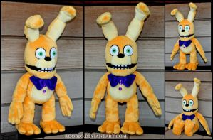 Five Nights At Freddys World - Spring Bonnie by roobbo