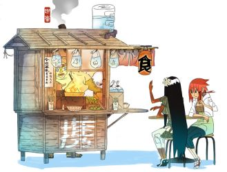 Food Cart space by BusterJim