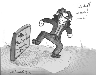 Dancing On His Grave by gilll