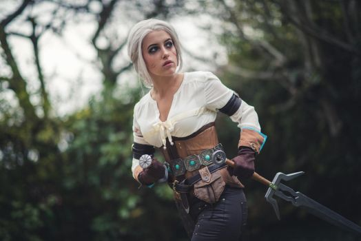 Ciri by Lily-on-the-moon
