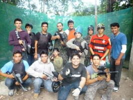 Paintball by lowstrikes