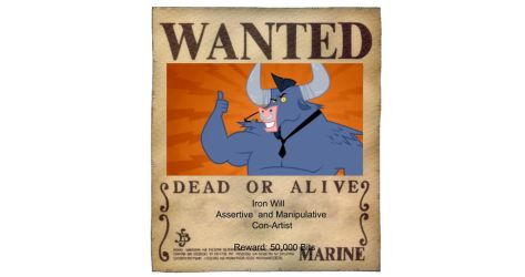 Iron Will Wanted Poster by HunterBrony101