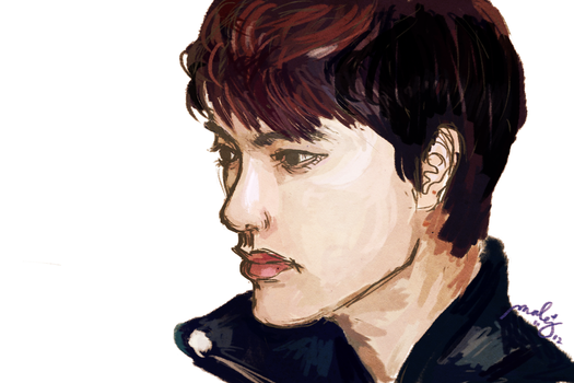 Kyungsoo by drinked-ale