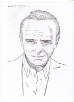 Sir Anthony Hopkins by StevenWilcox