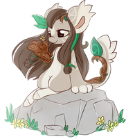 She is Groot-Flower Child #1 by Piichu-Pi