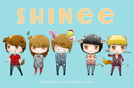 SHINee by itz-Cindyrella