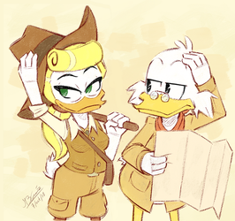 She can be a challenge sometimes - Ducktales 2017 by Koizumi-Marichan