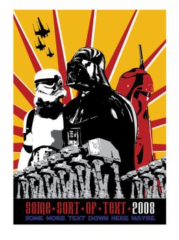 Star Wars Propaganda poster by theCrow65