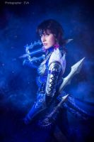 Dynasty Warriors 8: Wang Yi portrait by ElenaLeetah