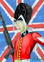 THE British Royal Guard by 126050922