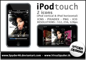 iPod touch icons by Spyder46