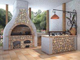 Fireplace 11 by i-t-h-i-l