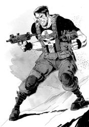 THE PUNISHER by IttoOgamy