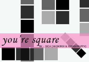You're Square Brushes PSP by girlinabox