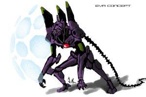 Eva 01 by Reckrismgs