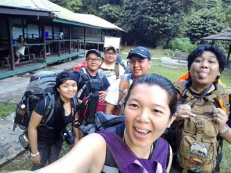Before Leaving Camp 5 To Headhunters' Trail by lisacred