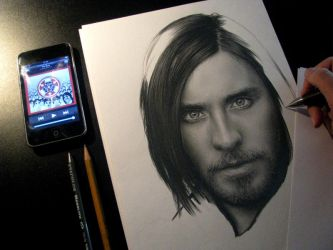 Jared Leto WIP 3 by D17rulez