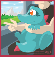 Training with Totodile
