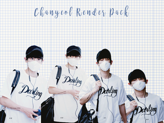Pack PNG #84 Chanyeol (EXO) by XieraaaPark
