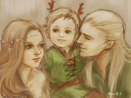 Legolas's family by royacc