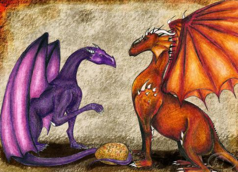 Dragons by Wayvy