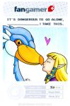 Zelda and her Loftwing by gummibaehr