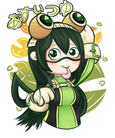 My hero Academia: Tsuyu by YumYumCorn