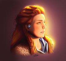 Horizon Zero Dawn - Aloy by ElyGraphic