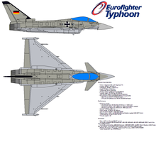 Eurofighter EF-2000 Typhoon by bagera3005